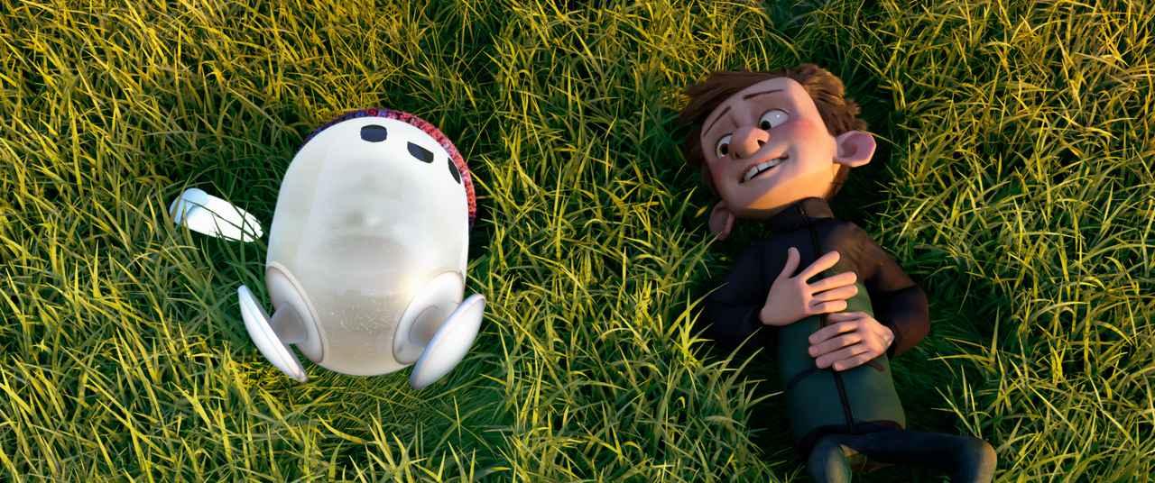 画像4: ポンコツBボットのロンと友達のいない少年・バーニーの愛くるしさ満載の場面写真が一挙解禁!