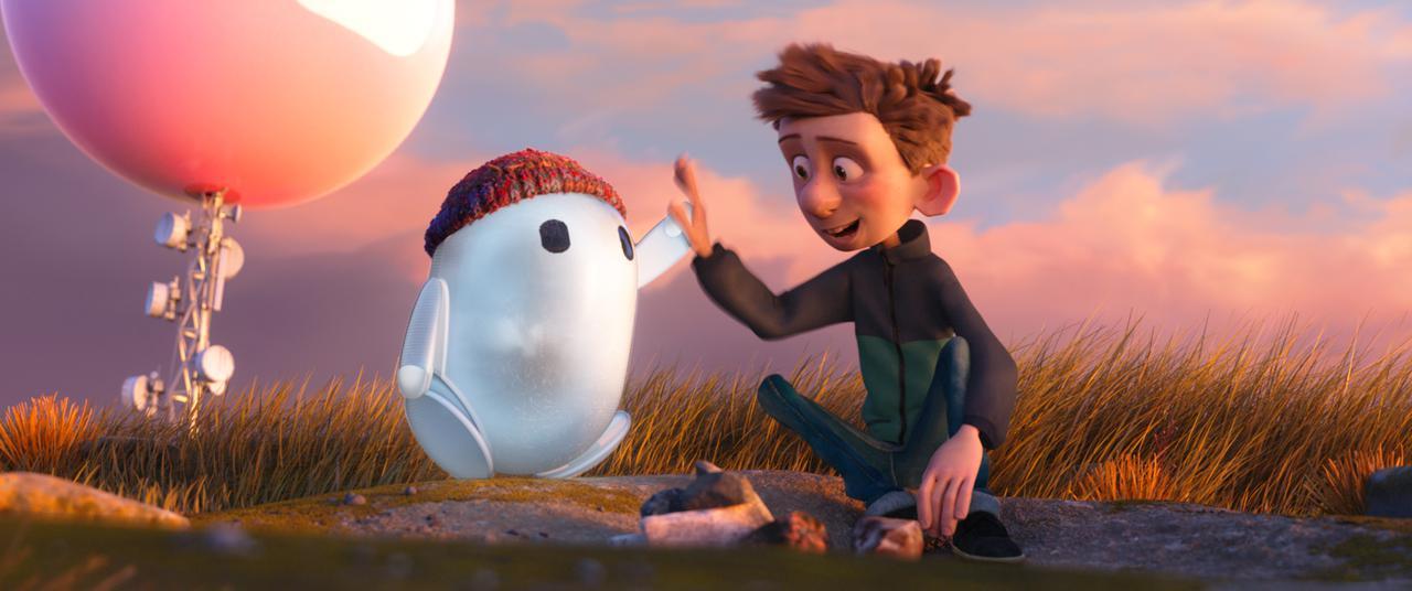 画像2: ポンコツBボットのロンと友達のいない少年・バーニーの愛くるしさ満載の場面写真が一挙解禁!