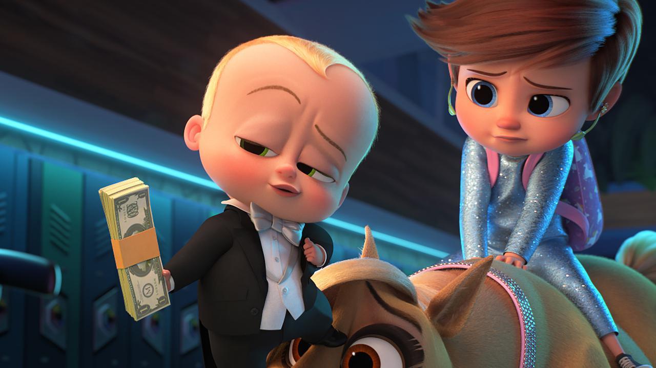 画像: キュートな赤ちゃんが不敵な顔で札束⁉ ギャップ萌え健在! 『ボス・ベイビー ファミリー・ミッション』場面写真一挙解禁 - SCREEN ONLINE(スクリーンオンライン)
