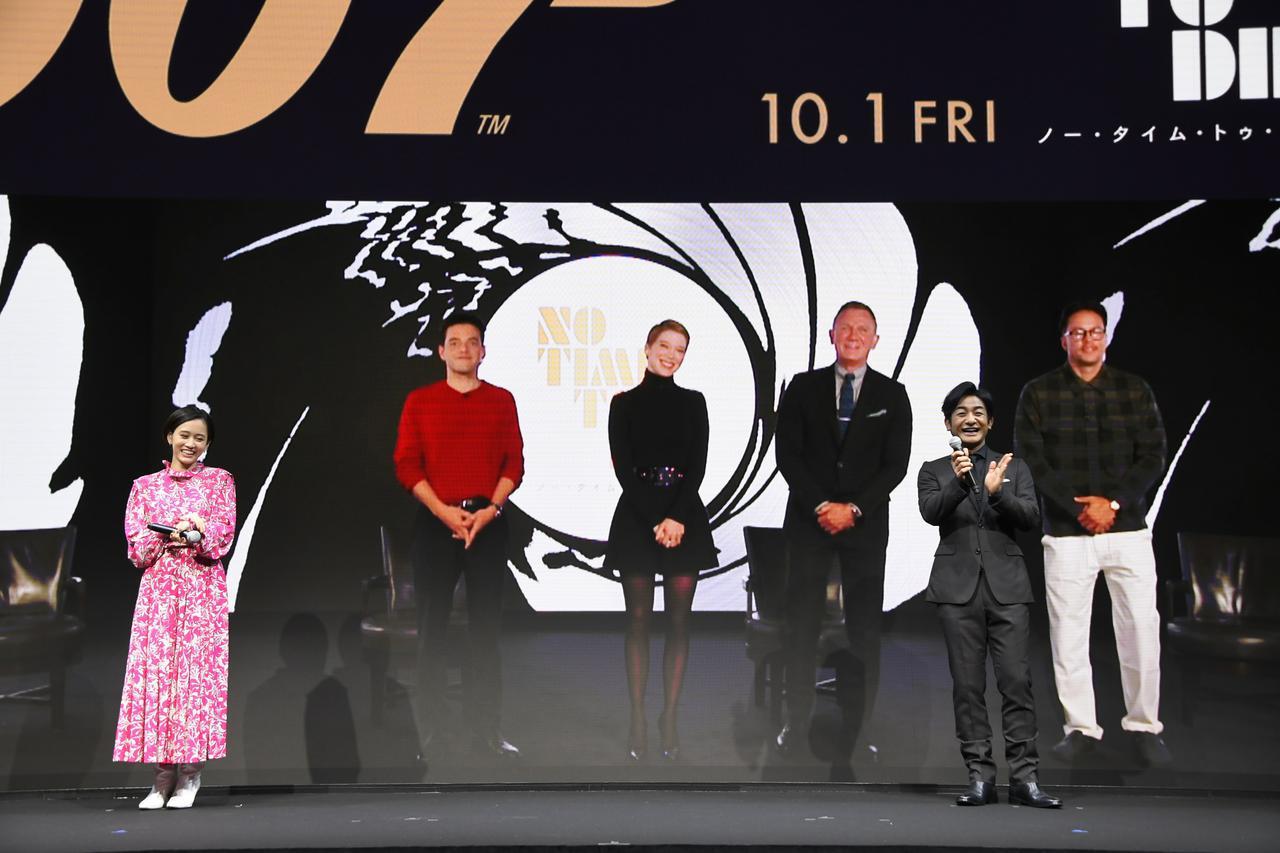 画像: ダニエル・クレイグ、ラミ・マレック、レア・セドゥ疑似来日?『007/ノー・タイム・トゥ・ダイ』バーチャルイベント開催! - SCREEN ONLINE(スクリーンオンライン)
