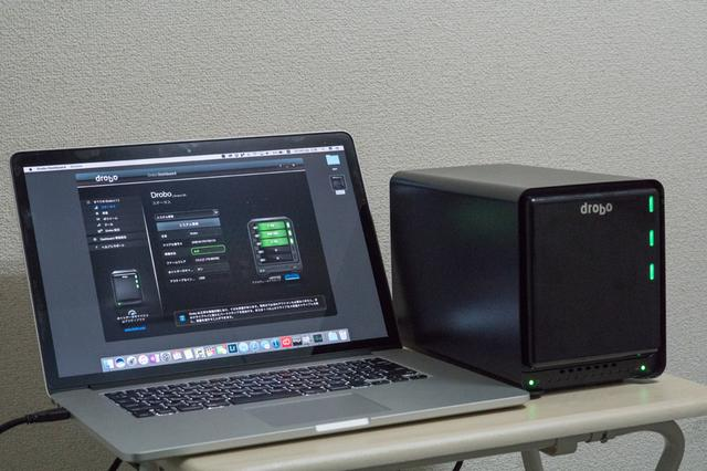 画像: http://www.drobo-jp.com/drobo/pdr5dt.html