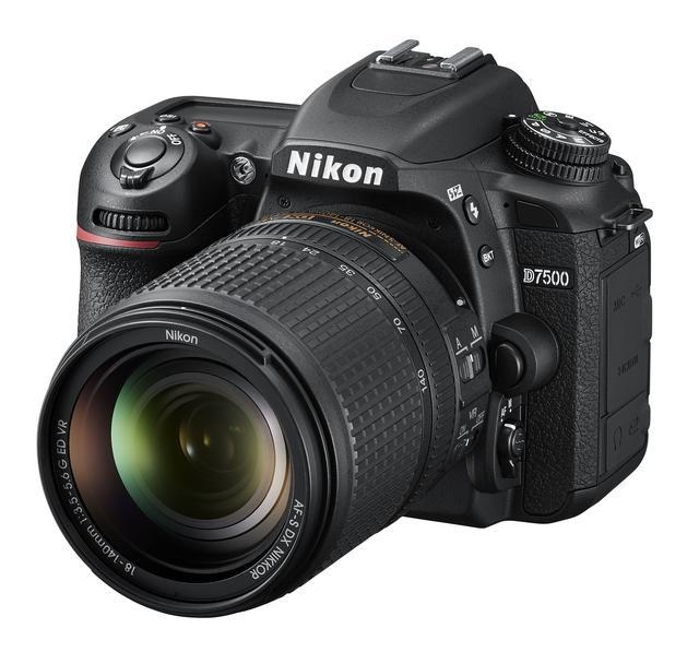 画像: ▲キットレンズとなるAF-S DX NIKKOR 18-140mm/f3.5-5.6G ED VRを装着した状態のニコンD7500。 www.nikon-image.com