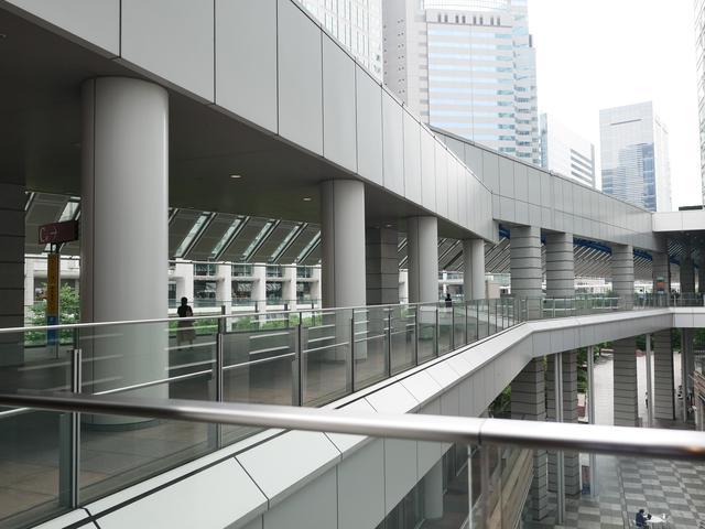 画像: 品川駅港南口から雨でもぬれずに行けます