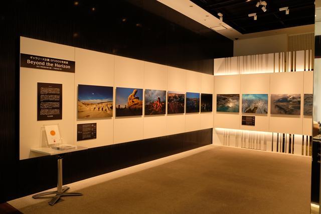 画像: ギャラリーではGFX50Sの写真展が開催されている