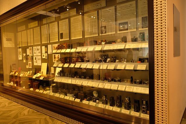 画像: 博物館では普段目にすることができないカメラを見ることができる