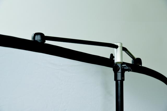 画像: 背景スタンド取付用マグネット(1300円) ▶アーバン背景の折りたたみ式バックグランドや折りたたみ式リフレクターなどをライトスタンドに取り付け、つるすためのマグネット。