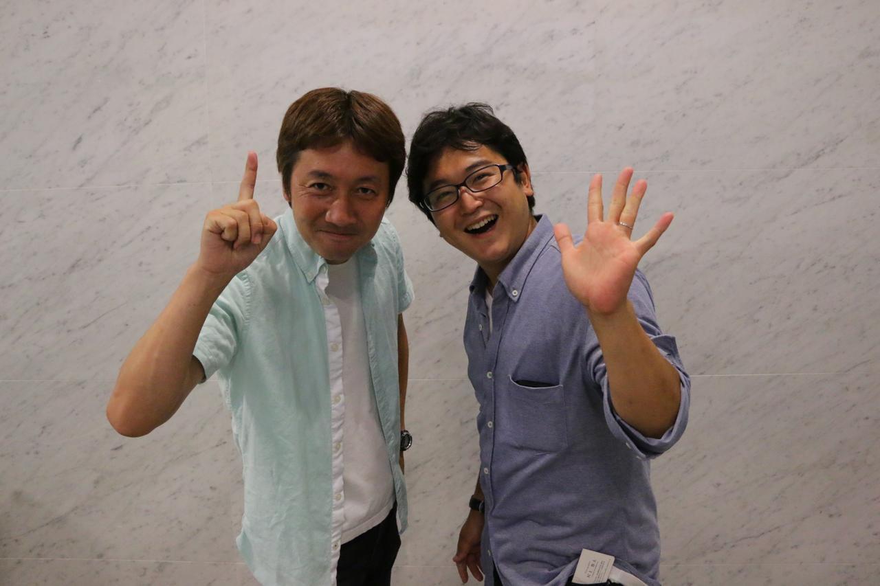 画像: ▲日本鉄道写真作家協会のホープ2人。左が久保田敦さん、そして村上悠太さん。お二人は「レイルマンフォトオフィス」の兄弟弟子(現在は独立されています)であり、良きライバル。22日(土)以下のイベントの講師を務められます。7/22は是非、キヤノンギャラリー品川にお出でください! cweb.canon.jp