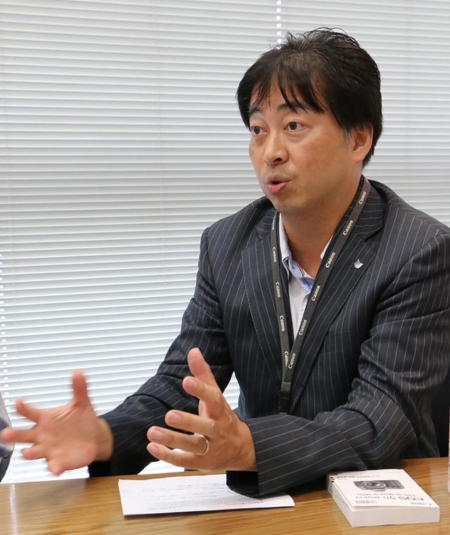 画像: 【カメラ商品企画担当】立花 淳氏(ICP第二事業部)