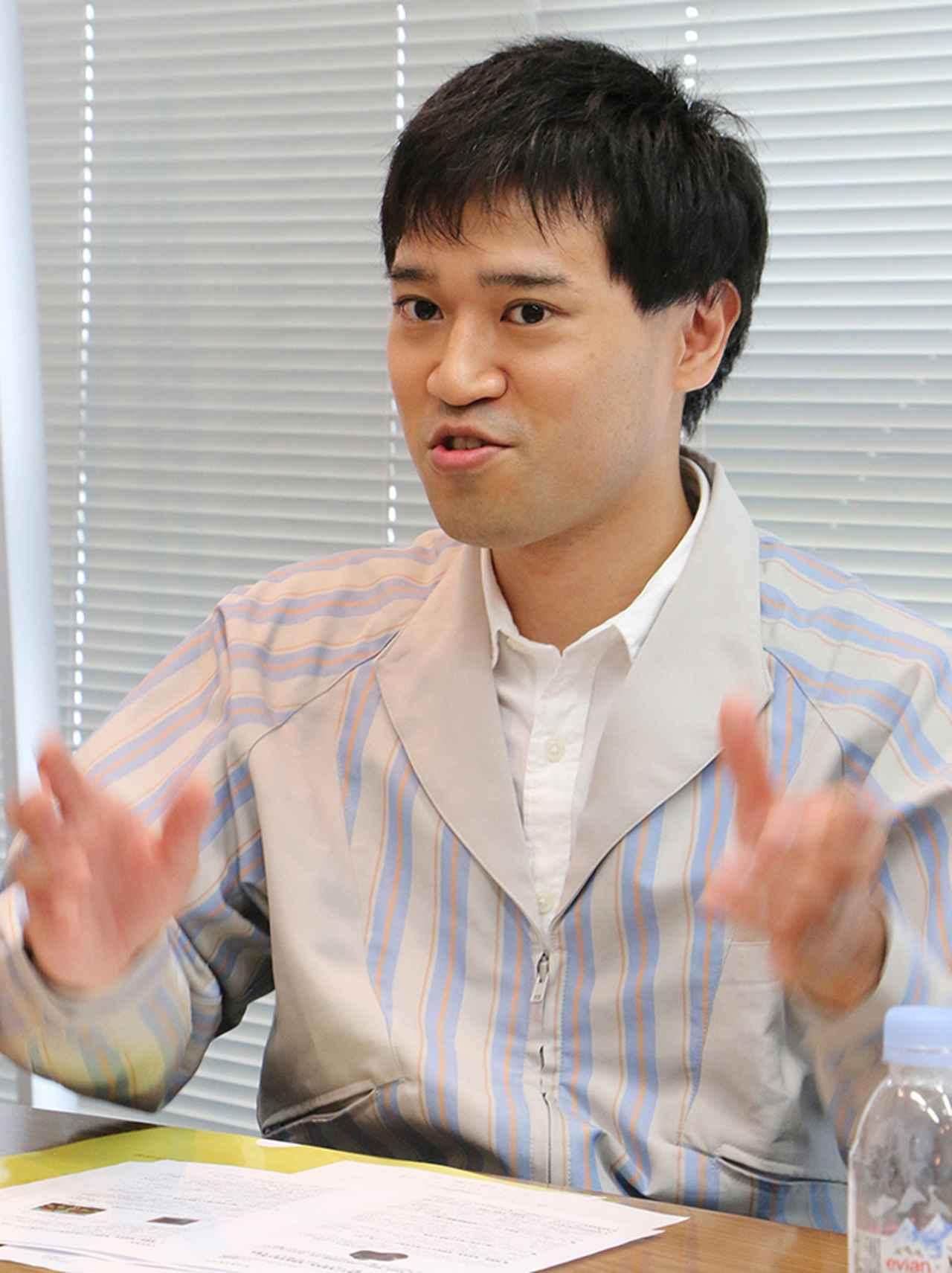 画像: 【デュアルピクセル担当】工藤圭介氏(ICP統括第二開発センター)。