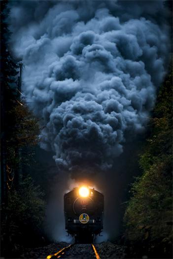 画像: キヤノン:キヤノンギャラリー 日本鉄道写真作家協会写真展:煙のゆくえ ~今を駆ける蒸気機関車~