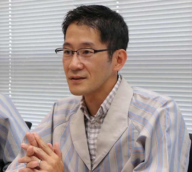 画像: 【電気システム担当】小野寺弘晃氏(ICP第二開発センター)。