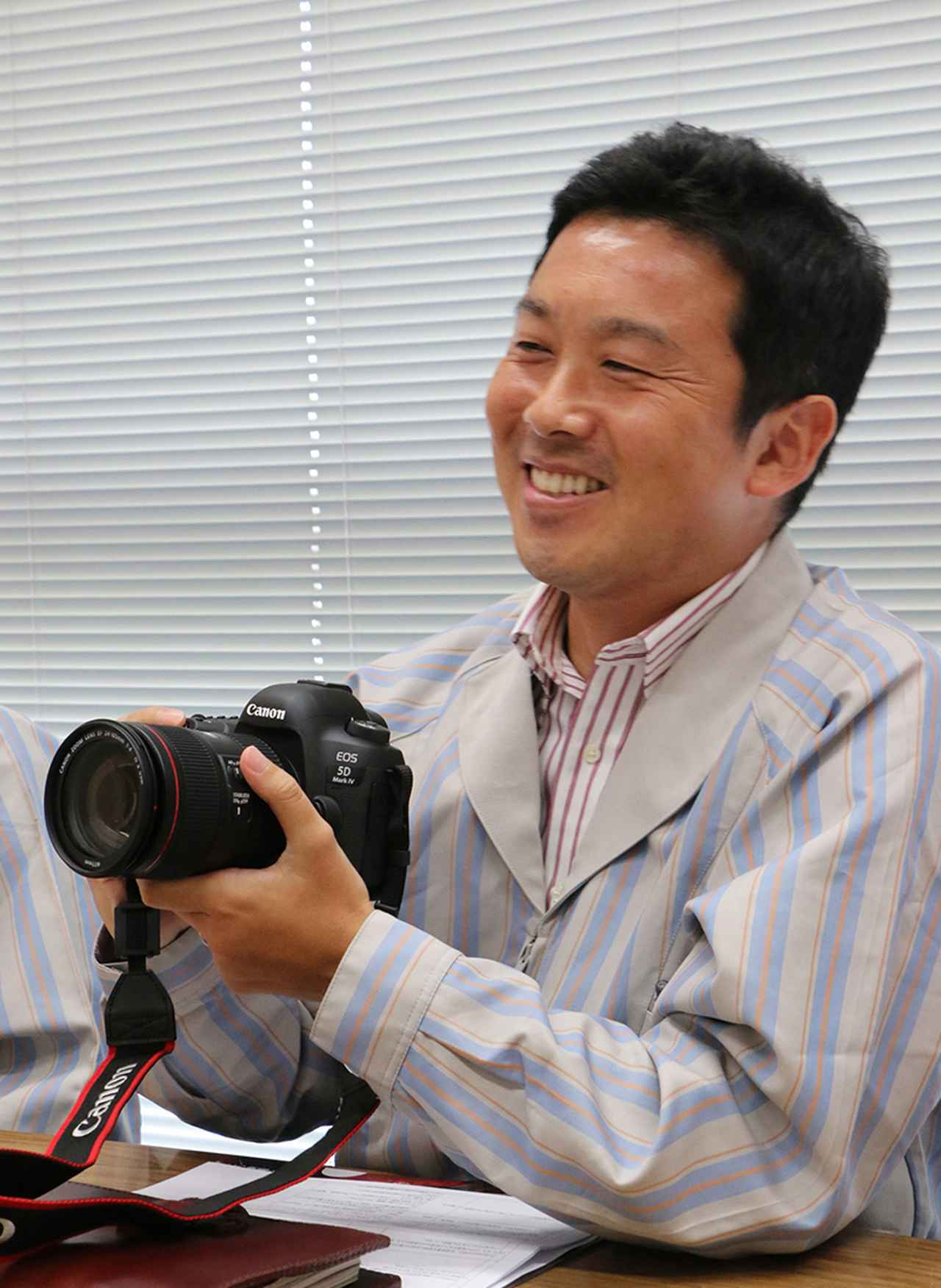 画像: 【ボディ&メカ担当】小島 裕氏(ICP第二開発センター)。