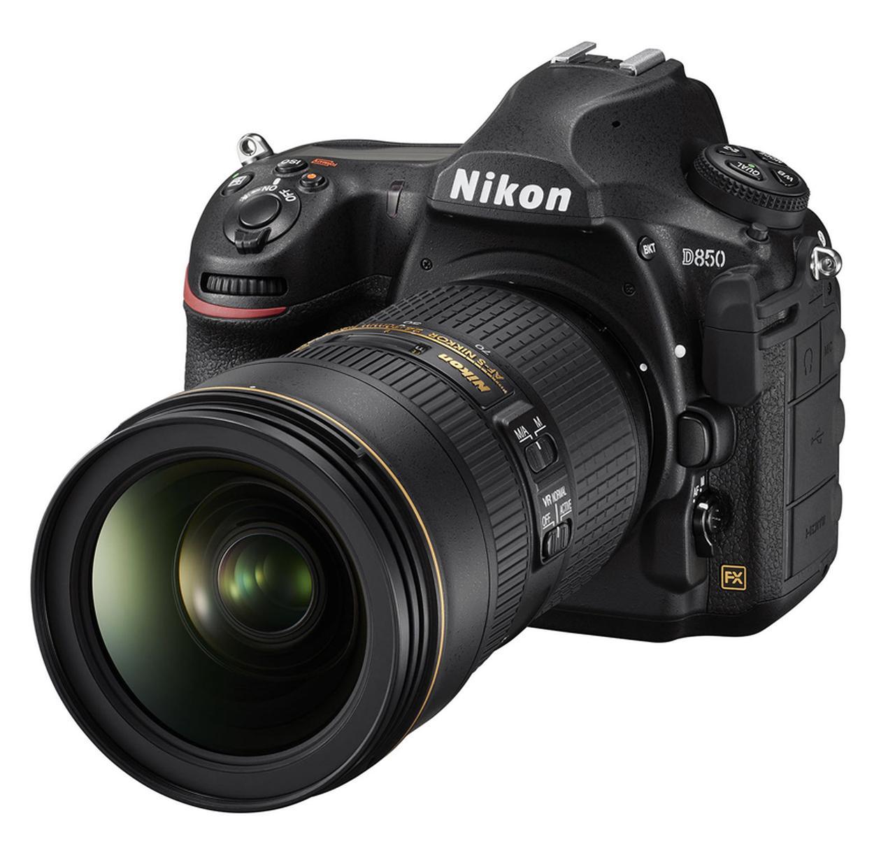 画像: ▲D850にAF-S NIKKOR 24-70mmf/2.8E ED VRを装着した状態。 www.nikon-image.com