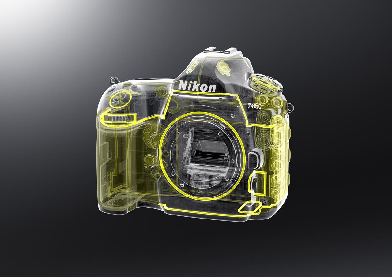 画像: ▲D850は防塵・防滴構造。屋外での厳しい撮影環境条件下での風景撮影や、長時間のインターバルタイマー撮影にも安心だ。
