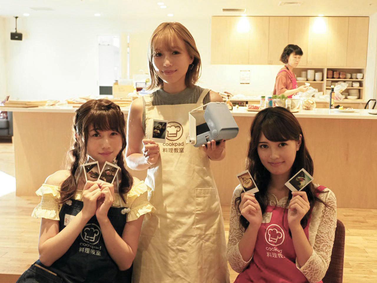 画像: 当日はファッションモデルの増澤璃凜子ちゃん(写真左)、鎌田安里紗ちゃん(写真中)、宮内理沙ちゃん(写真右)達もゲスト参加した。
