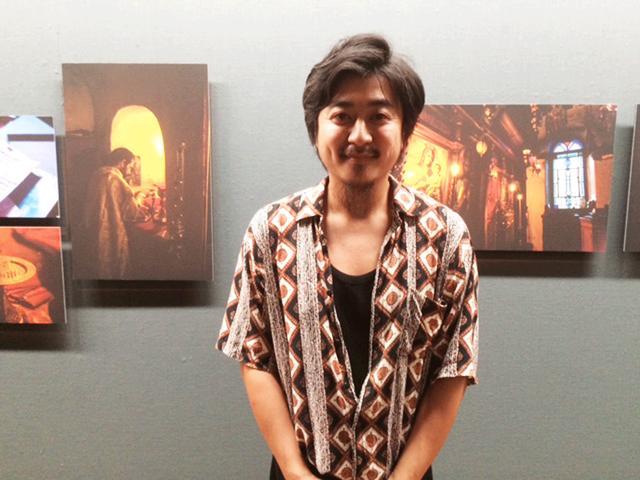 画像: 写真家・中西裕仁さん。
