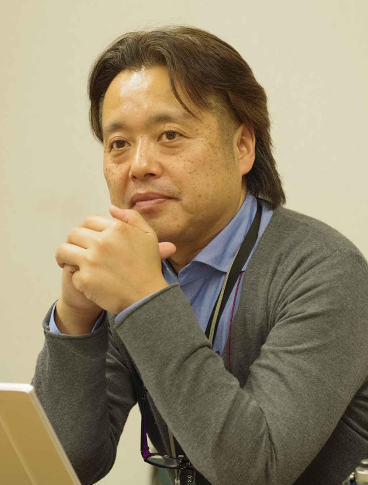 画像: 「内蔵フラッシュは最後に決まりました」 田口一郎 氏(メカ担当)
