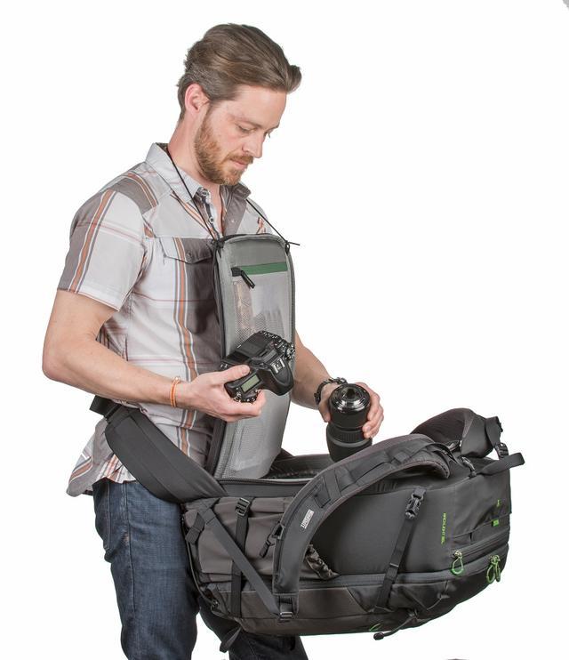 画像5: 銀一(海外商品部)がカメラバッグ「Mind Shift GEAR(マインドシフトギア)の新製品、「Back Light 36L」を9月27日より発売!