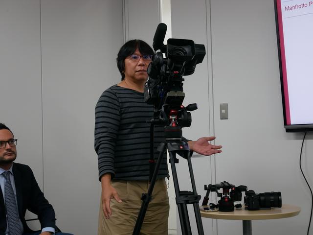 画像: ▲写真をクリックすると岡さんのデモの一部を動画でご覧頂けます。 youtu.be