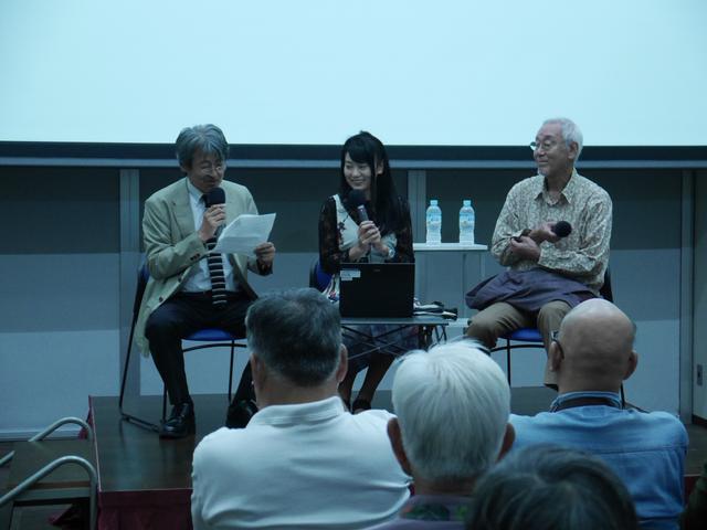画像: 広田氏と矢野氏の軽妙なトークで会場からはたくさんの笑いが。(写真汚くてすみません)
