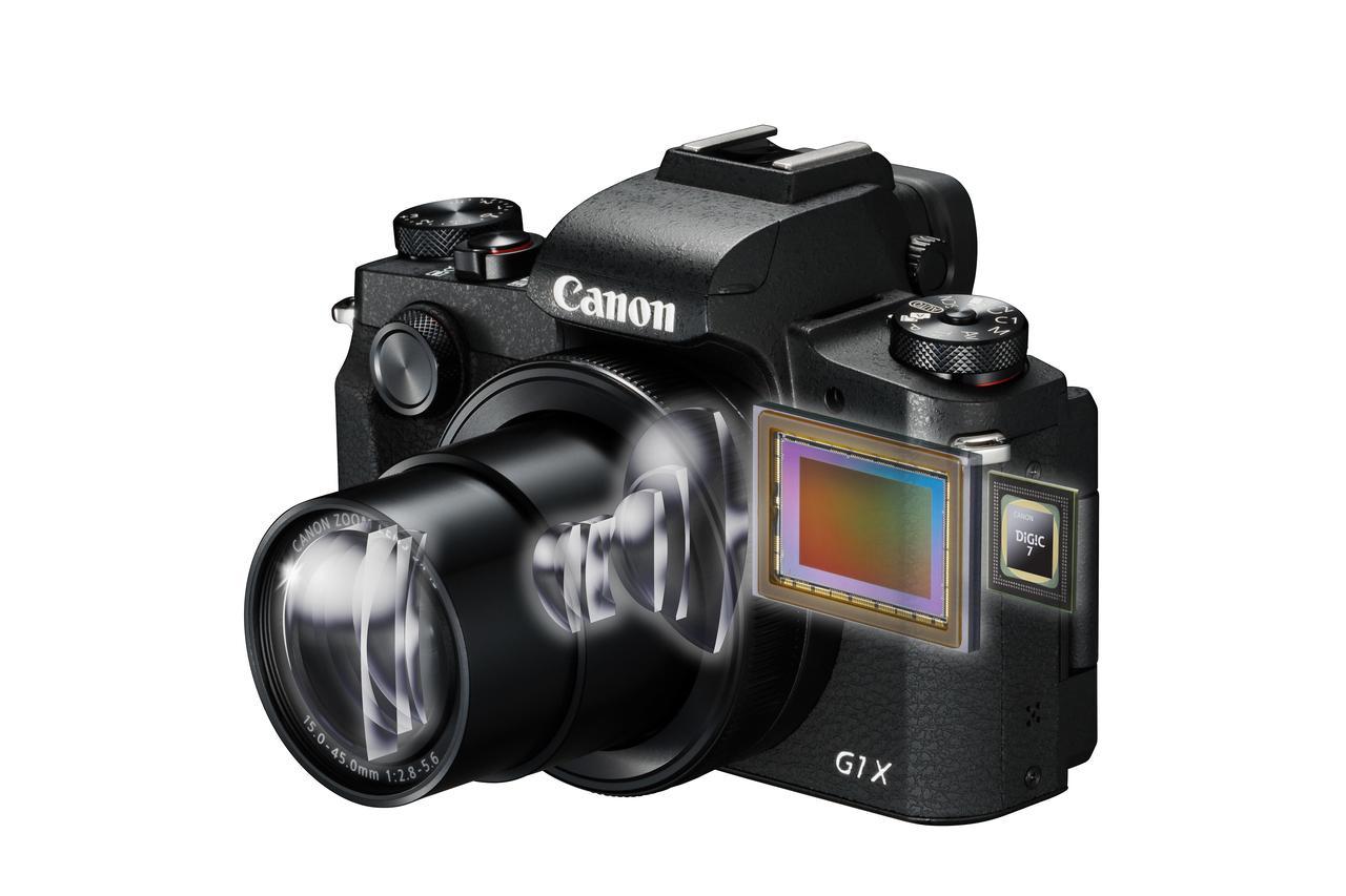 画像: ▲EOSシリーズと同等のAPS-Cサイズセンサーと最新の画像処理エンジンDIGIC7を搭載することから、このモデルへの「キヤノンの本気度」が分かるだろう。 cweb.canon.jp