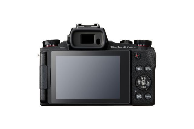 画像: ▲ボディ背面。液晶モニターは3.0型でバリアングルでタッチパネルとなっている。撮影の自由度が増し、利便性が高い。 cweb.canon.jp