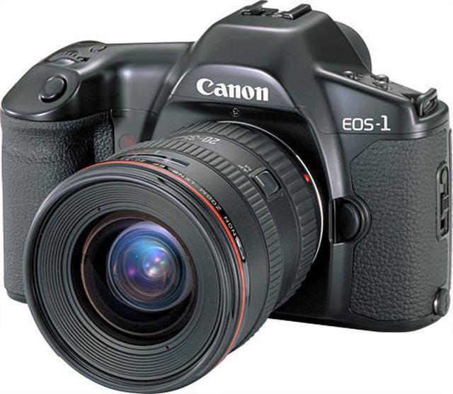 画像: ▲プロ写真家が愛用した「EOS-1」は1989年9月発売。「EOS-1」シリーズは同社のフラッグシップ機としてフィルムカメラでは「EOS-1V」に引き継がれ、現在のハイエンド機「EOS-1D X MarkⅡ」へと至る。