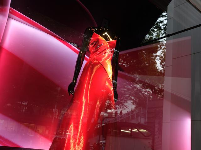 画像: 深い赤からビビッドな赤まで、ていねいに色と階調を再現。軽快に歩き、気になったらシャッターを切る。そんなスナップの基本的な撮影スタイルを可能にしてくれるのがこのレンズだ。 ■絞り優先AE(F5.6 1/60秒) マイナス1.0露出補正 WB:オート ISO640 フィルムシミュレーション:PROVIA