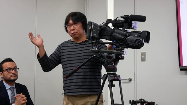 画像: 2017年10月11日(水)マンフロット記者発表会(岡英史氏) youtu.be
