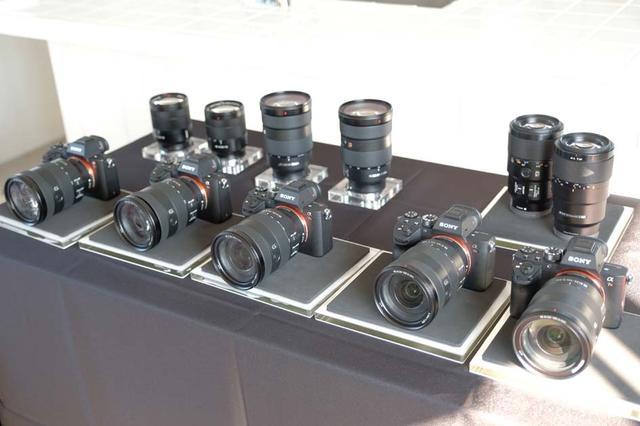 画像: GMをはじめとする各種レンズも体験撮影できた。(撮影:豊田慶記)
