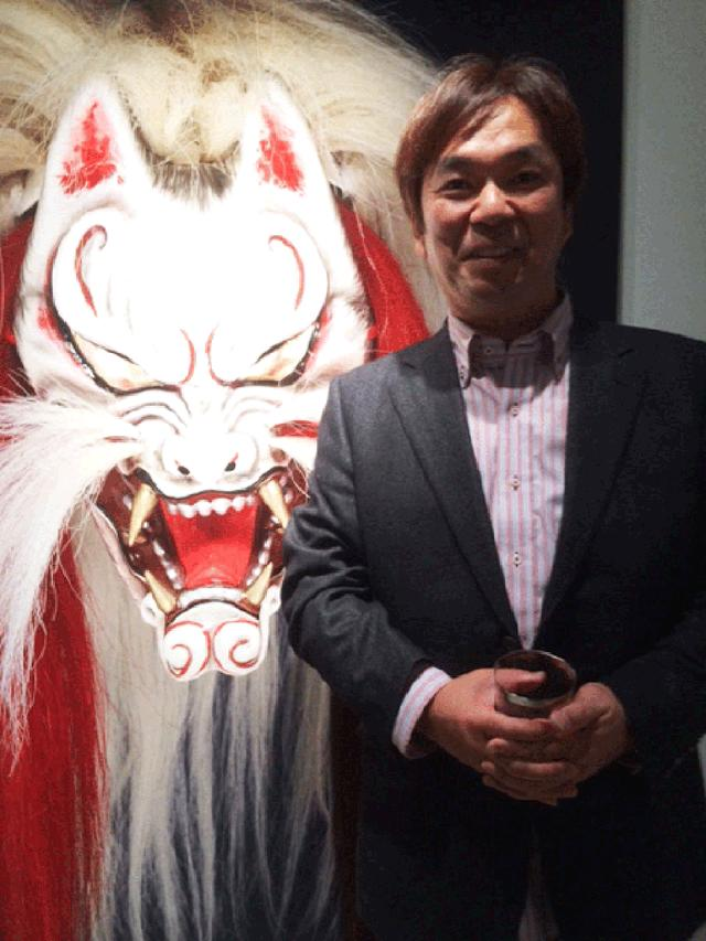 画像2: 河野英喜写真展 伝承の技『石見神楽面』はTHE GALLERY 新宿1で開催中です。