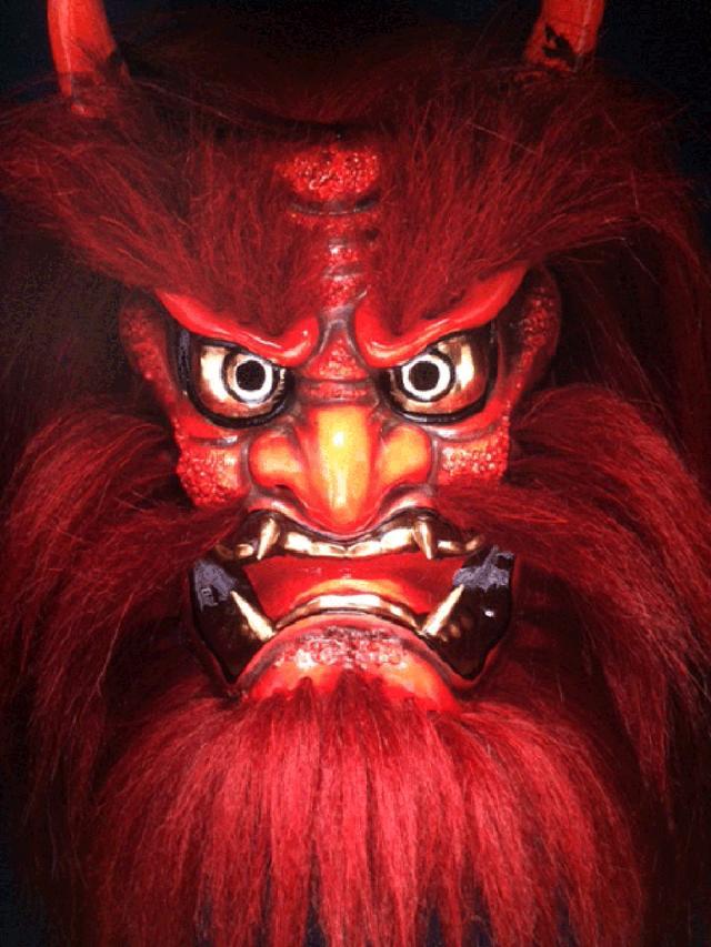 画像1: 河野英喜写真展 伝承の技『石見神楽面』はTHE GALLERY 新宿1で開催中です。
