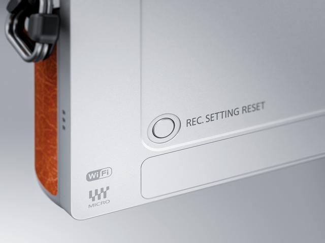 画像: ▲変えてしまった撮影設定を初期設定の状態に戻す「撮影設定リセットボタン」。