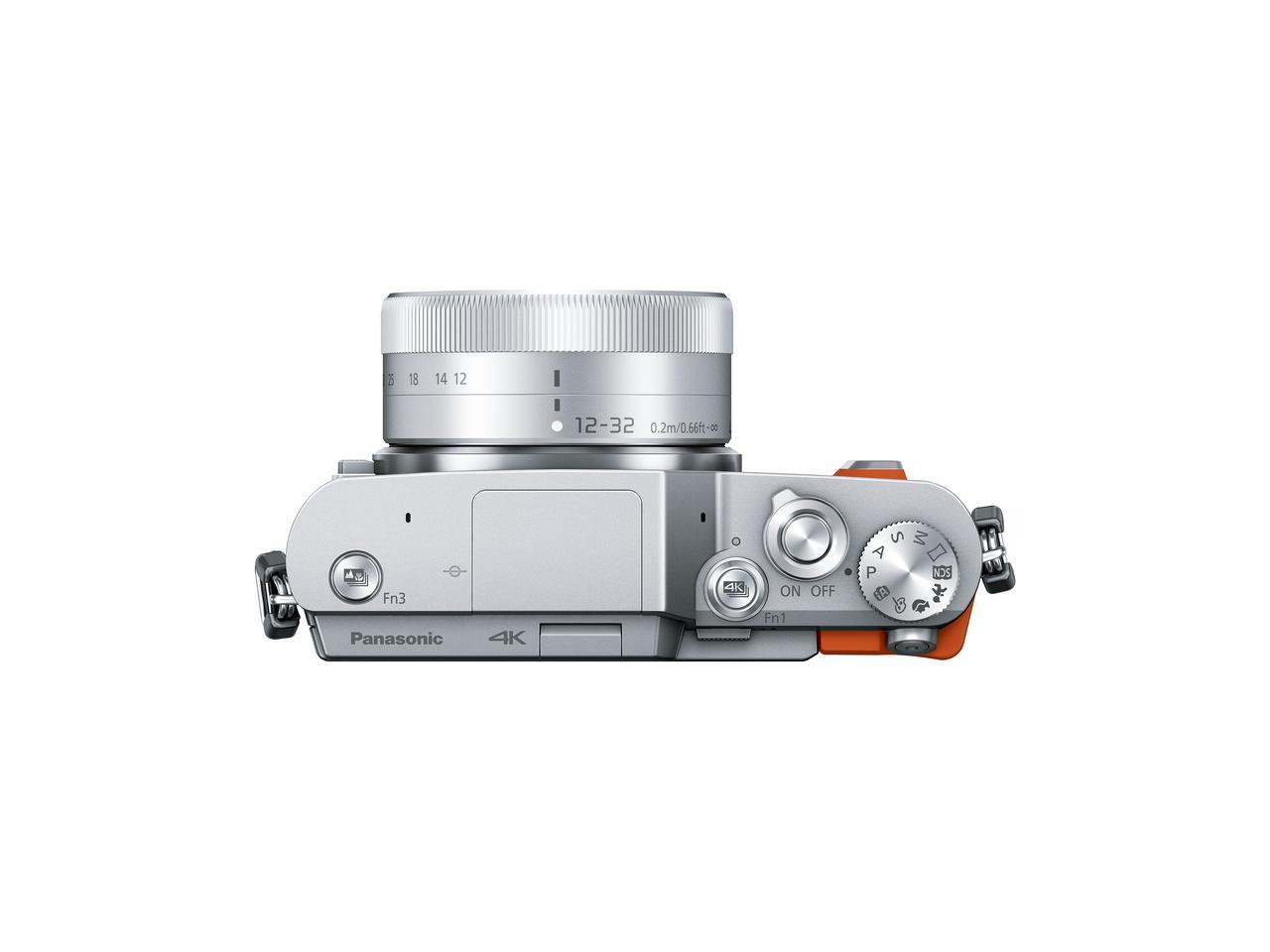 画像: ▲トップ部はシンプルな操作系。TTL調光ポップアップ式の内蔵フラッシュを装備。
