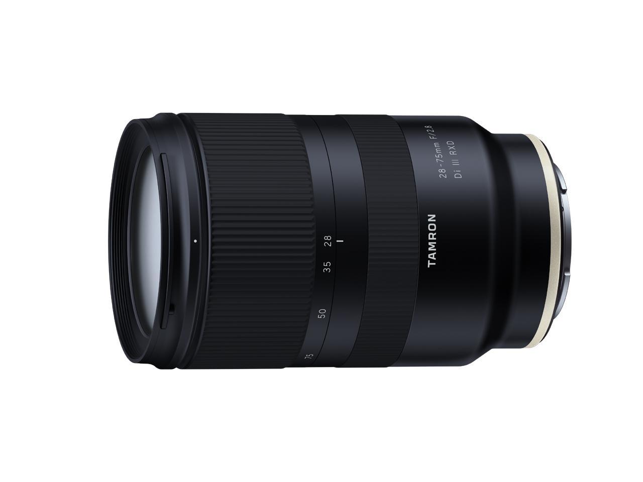 画像: タムロンはフルサイズ対応のミラーレス専用、大口径標準ズームレンズ28-75mm F/2.8 DiⅢ RXD (Model A036)の開発を発表!