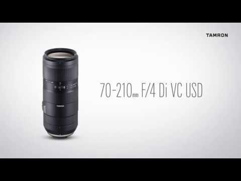 画像: タムロン 70-210mm F/4 Di VC USDモデルA034 www.youtube.com