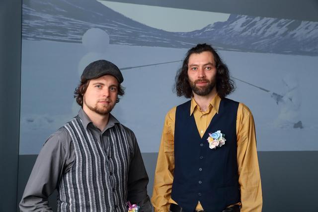 画像: ▲グランプリ受賞者の トロン・アンステン氏(右)/ベンヤミン・ブライトコプフ氏(左)。
