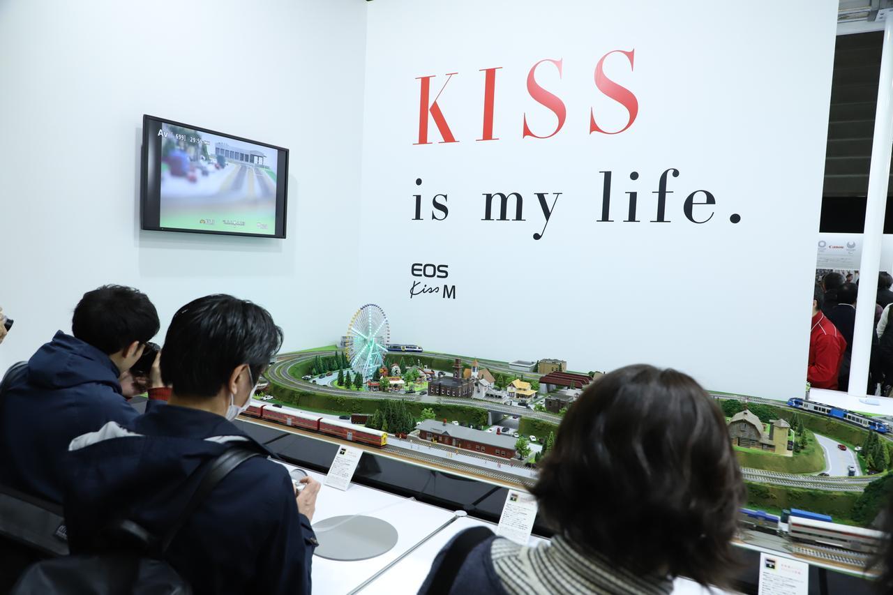 画像3: 人気を集めた「EOS Kiss M」のタッチ&トライ!