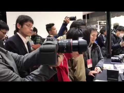 画像: CP+2018キヤノン www.youtube.com