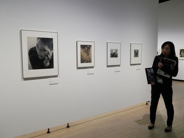 画像1: 3階展示室では「『光画』と新興写真 モダニズムの日本」展