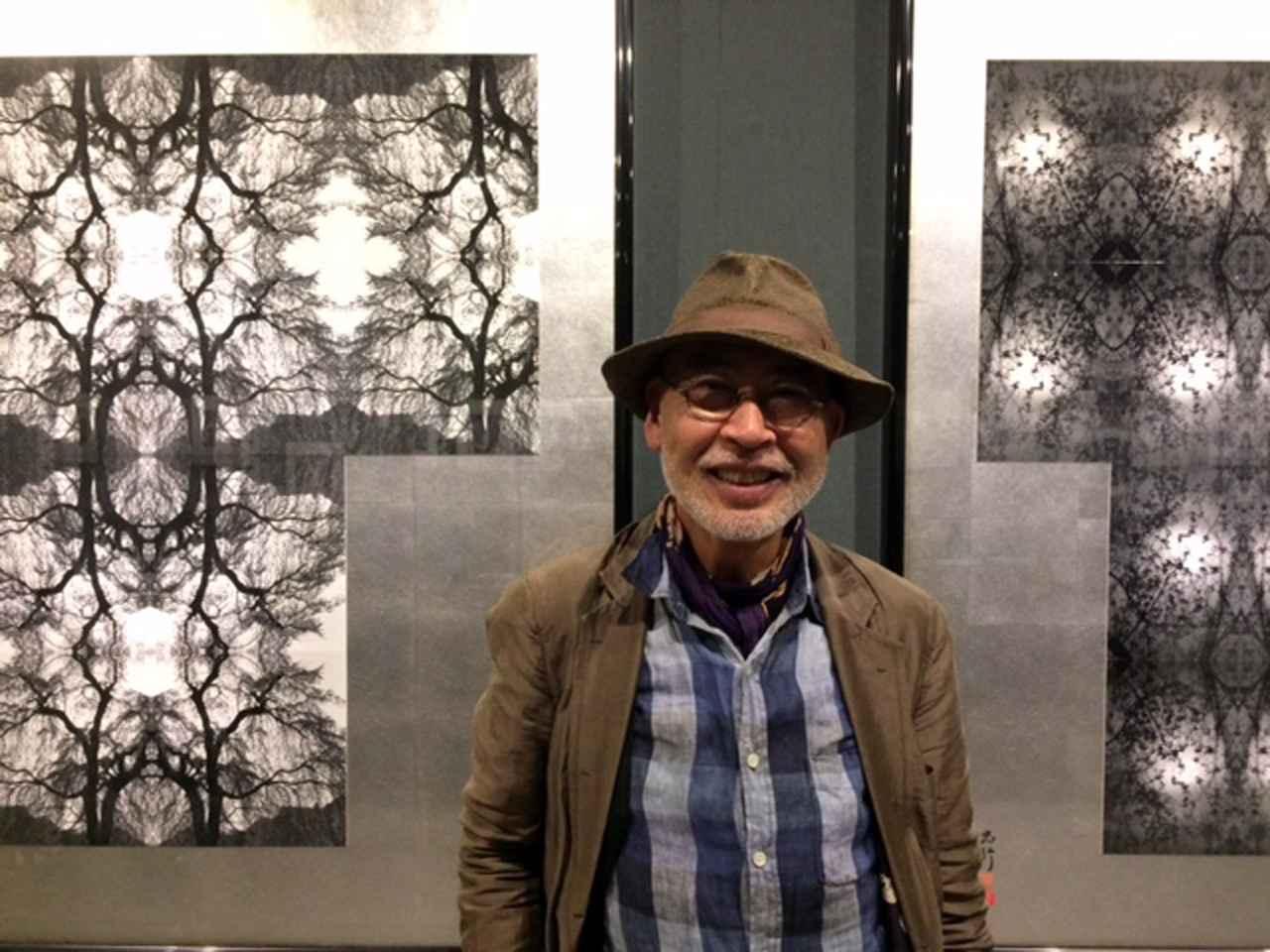 画像: 内藤忠行氏。77歳とは思えぬ発想をなさる写真家です。