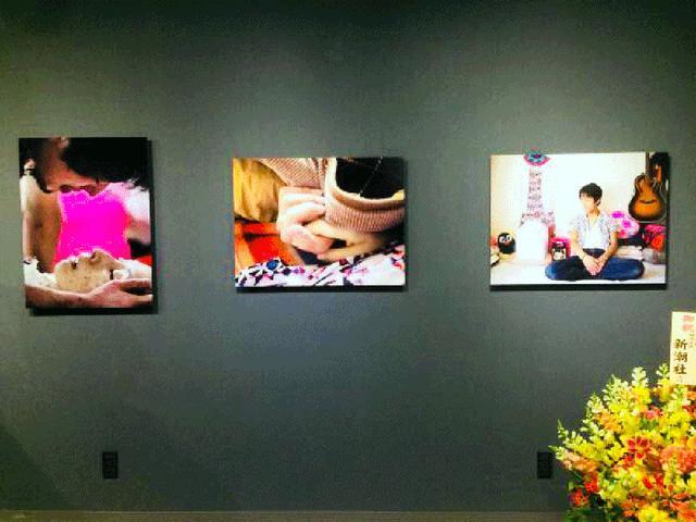 画像: 癌患者の5枚組写真には力強いドラマが展開されています。
