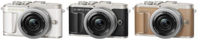 画像: OLYMPUS PEN E-PL9 14-42mmEZ レンズキット(ホワイト/ブラック/ブラウン)