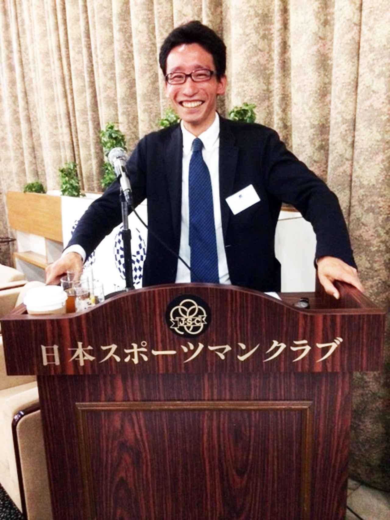 画像: アフロ所属の写真家・中西祐介さんが司会進行。