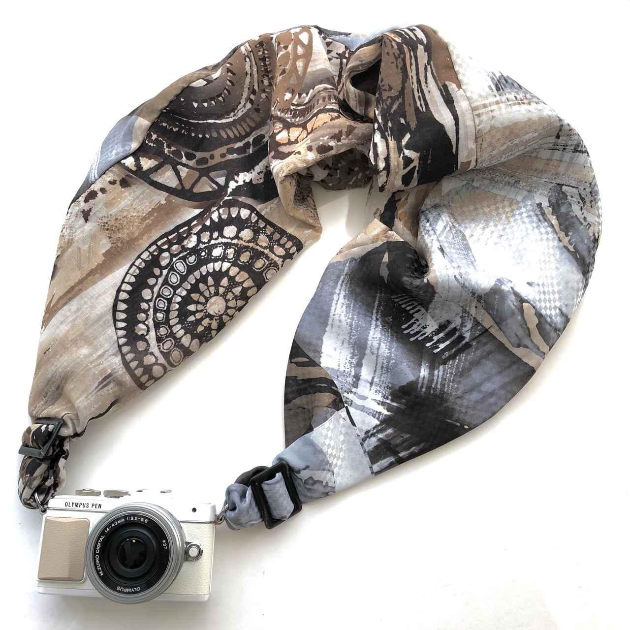 画像2: 重たいカメラを軽くする、サクラカメラスリングに男性ユーザーをターゲットとした「サクラスリングHOMME(オム)」が新発売!