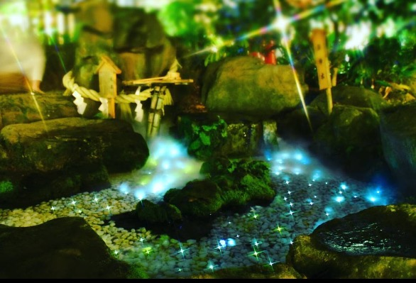画像: ②光る川