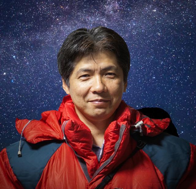 画像: 1958年新潟県神林村出身、在住。東京デザインアカデミー建築士科及びパース専門課程卒業。建築設計事務所勤務を経て1980年に新潟郵便貯金会館プラネタリウムに入る。1984年独立して日本プラネタリウムラボラトリー(略称:JPL)を設立。天文・宇宙のイラストや天体写真の撮影を手がけている。天体撮影に関する著書多数。