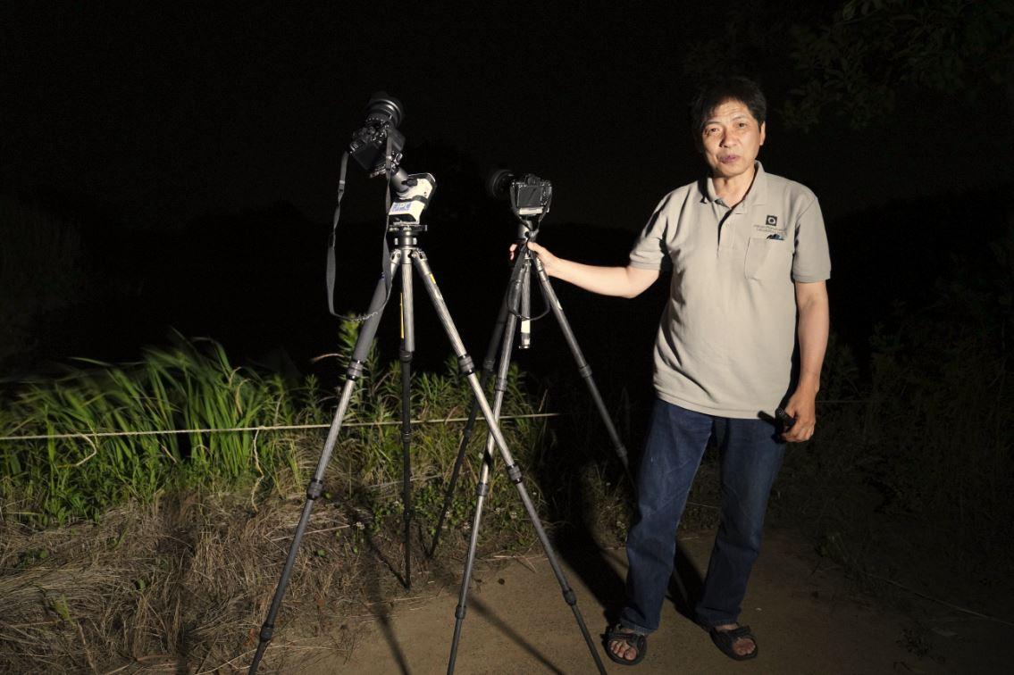 画像: 沼澤さんの撮影現場