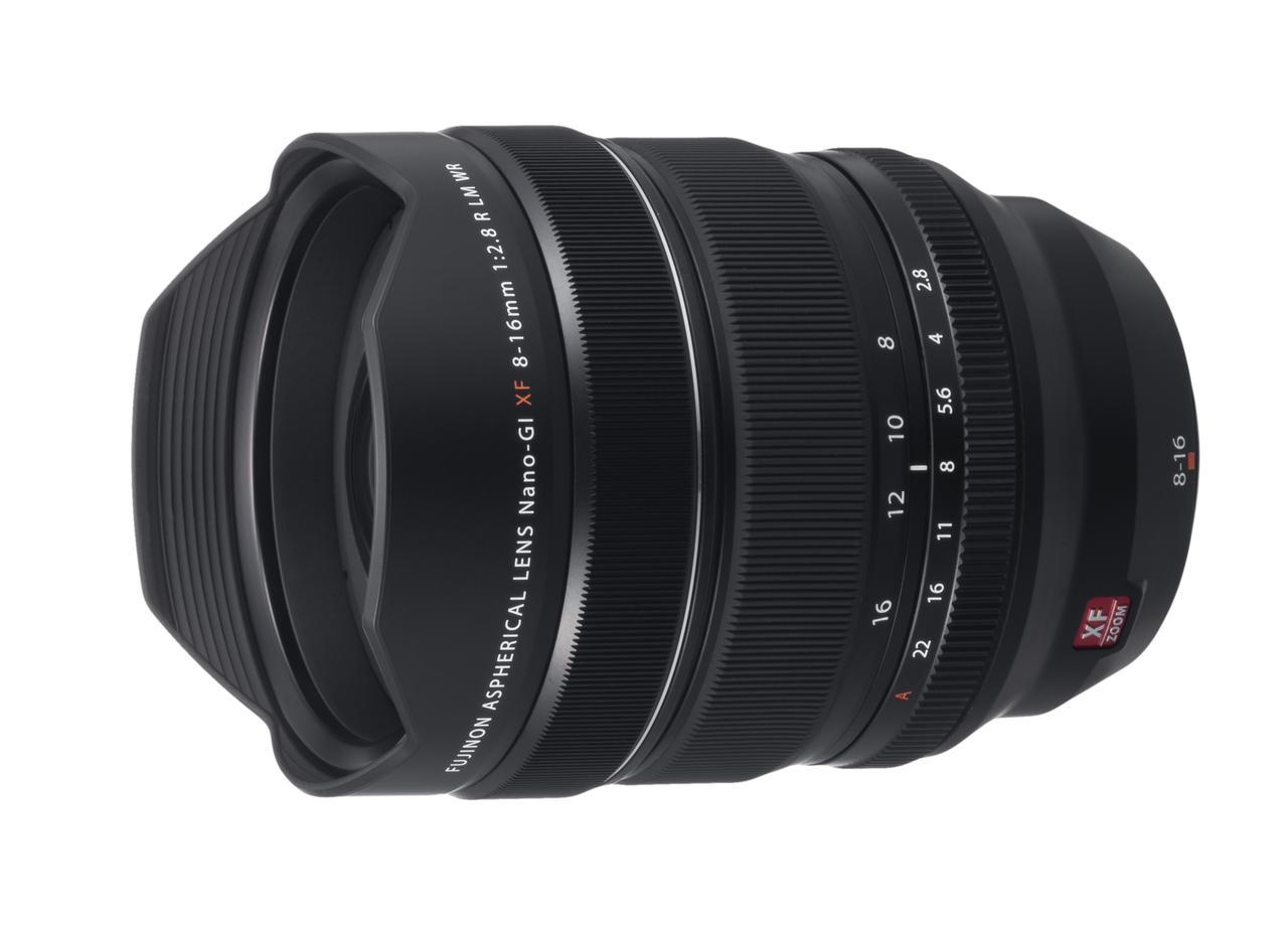 画像: 富士フイルムは大口径超広角ズームレンズ「フジノンレンズ XF8-16mmF2.8 R LM WR」を 発表。発売は2018 年 11 月下旬予定。