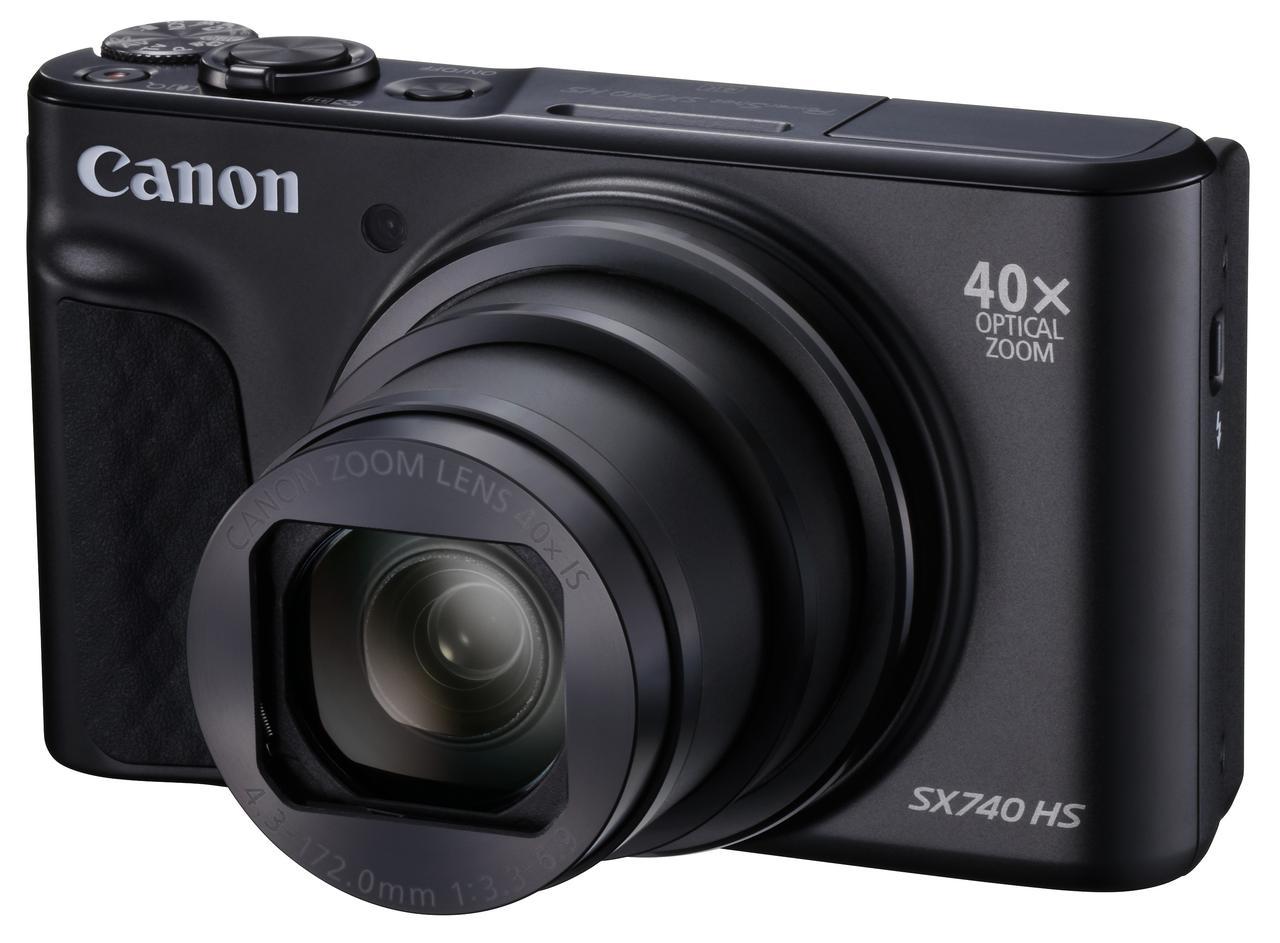 画像: PowerShot SX740 HSブラック